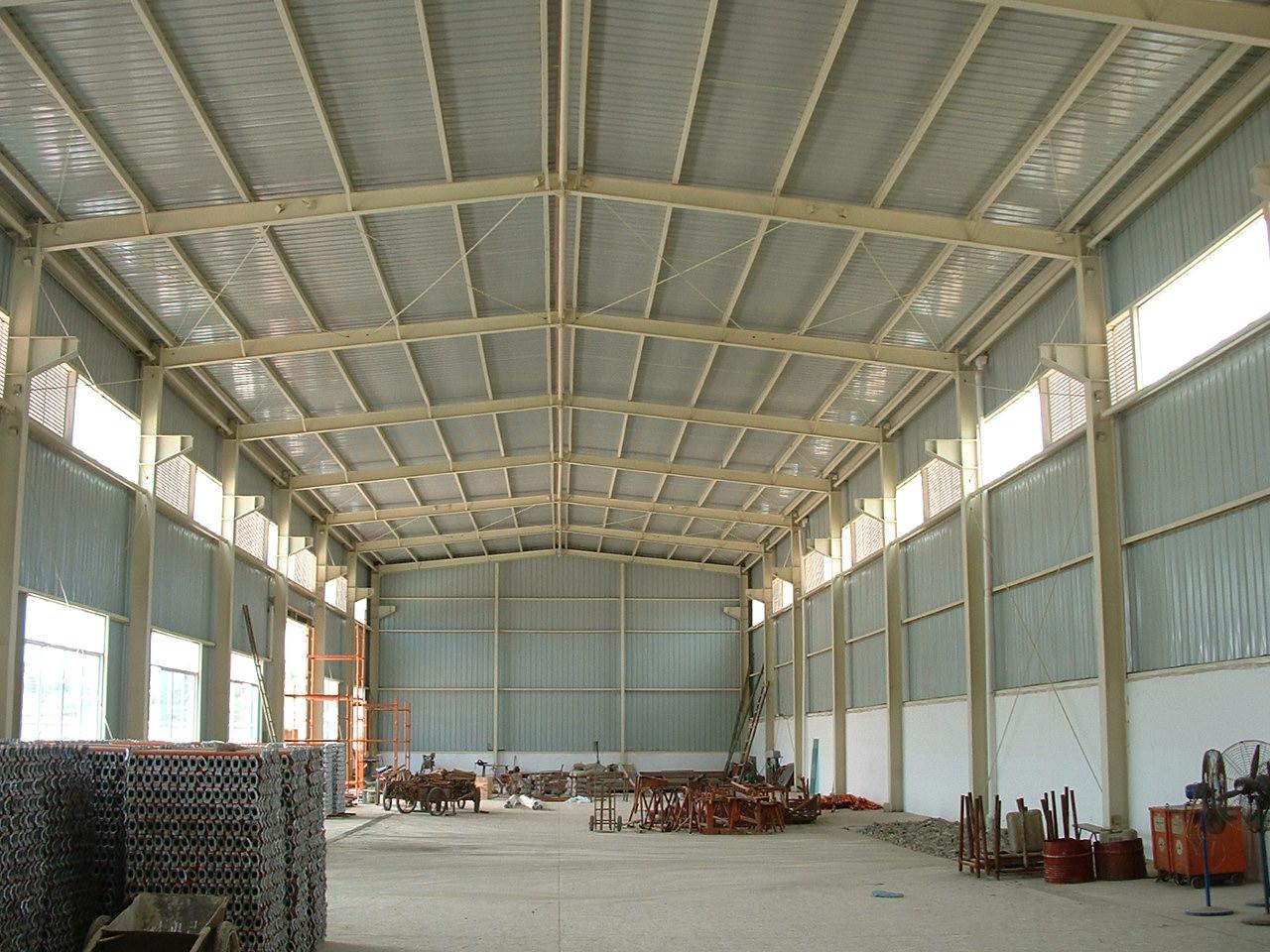 上海鸿怡彩钢结构有限公司 上海彩钢板 钢结构厂房 钢结构工程公司